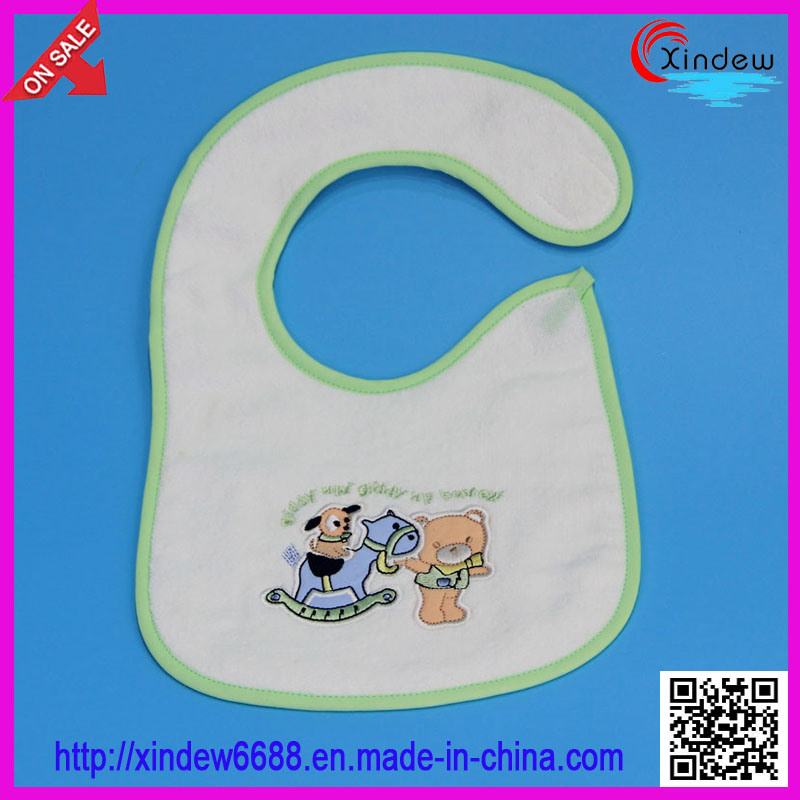 2 Layer of Baby′s Embroidered Bib
