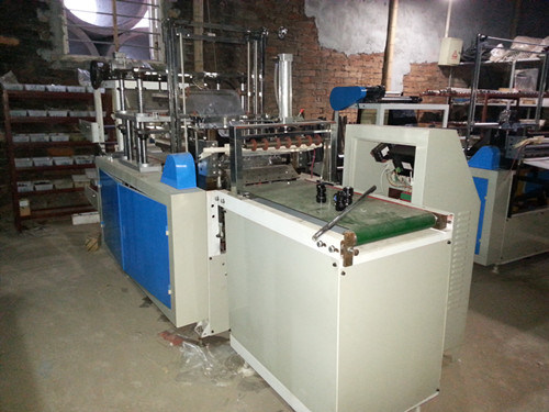 CE Plastic Disposable Glove Making Machine (double layers)