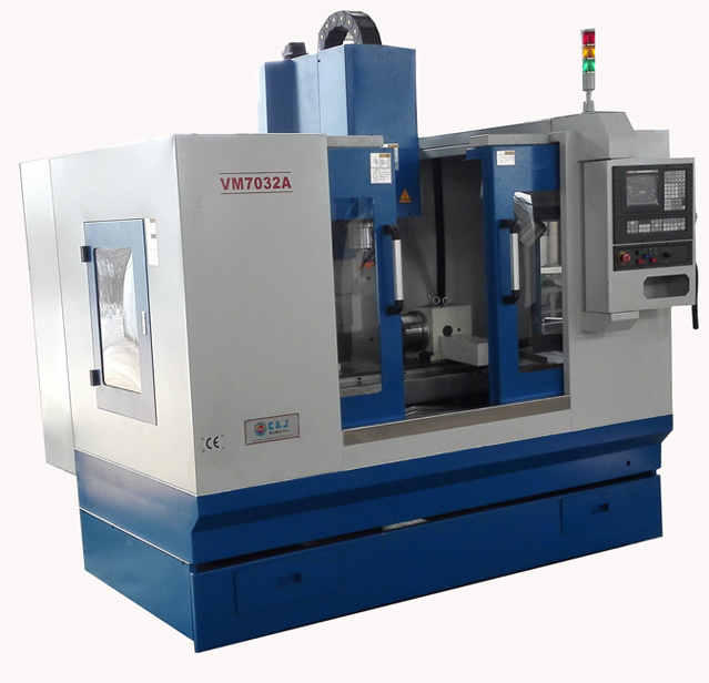 Precision Vertical CNC Milling Machine with High Quality (XH7132/VMC600)