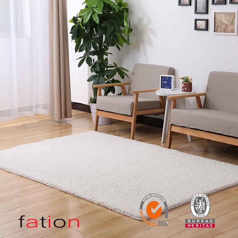 Home Decorator Modern Shag Area Rugs Super Soft Solid Living Room Carpet