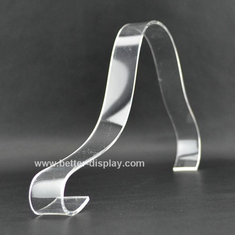 Plastic Acrylic Clear Shoe Display Insert Btr-G1057