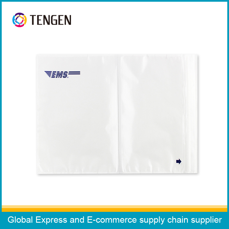 Plastic Packing List Envelope with Strong Back Glue