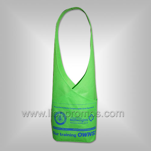 Lady Non Woven Shopping Tote Bag
