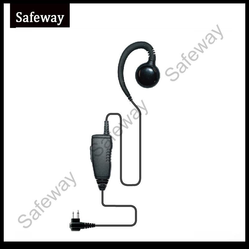 One Wire Walkie Talkie Earphone for Motorola Cls1410