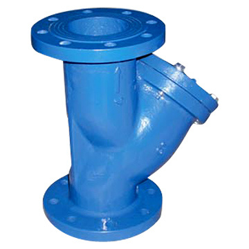 Cast Iron Flanged Y-Strainer, Pn10/Pn16/ ANSI 150