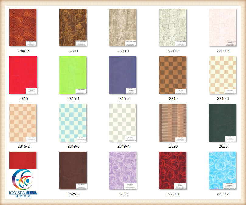 High Pressed Laminate Sheet Wood Glossy HPL for Building