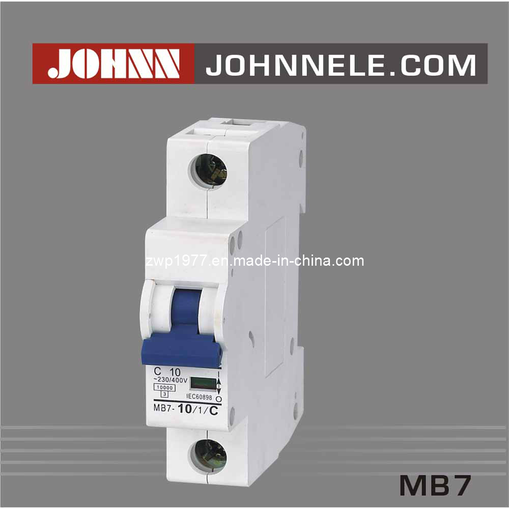 MB7 1p Mini Circuit Breaker