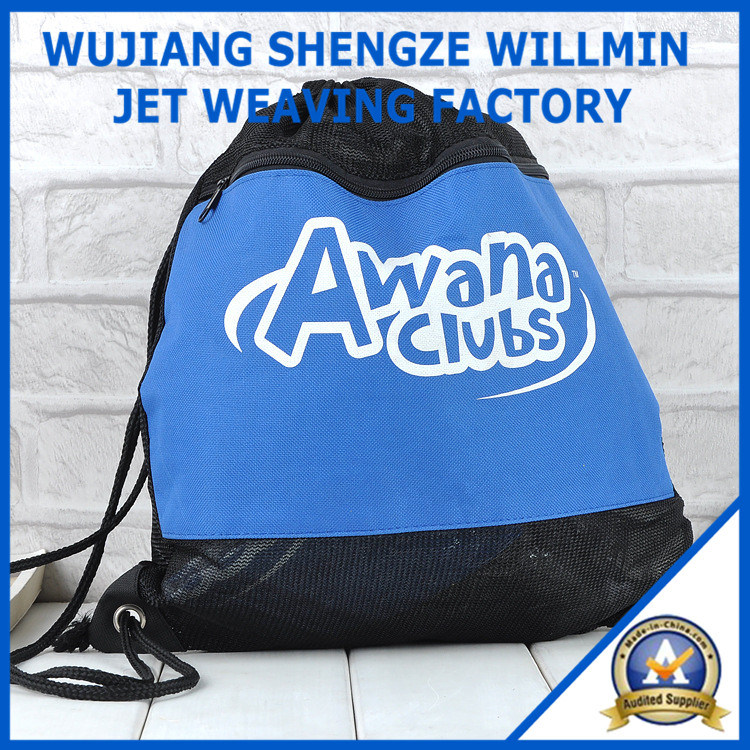 Mesh Bag Travel Backpack