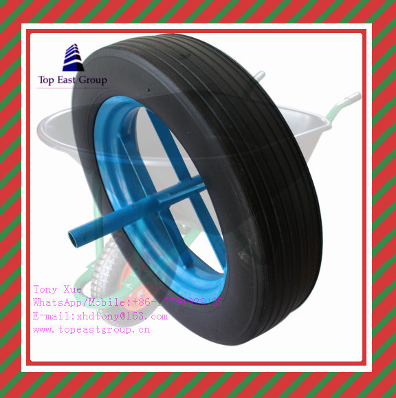 3.00-8, 3.25-8, 3.50-8, 400-6, 4.00-8, Super Quality Long Life PU Foam Wheel