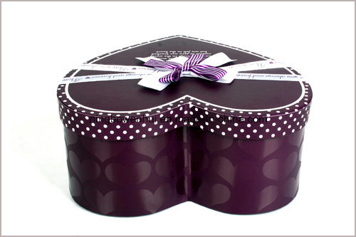 Heart Shape Jewelry / Chocolate / Cosmetic Gift Packaging Paper Box