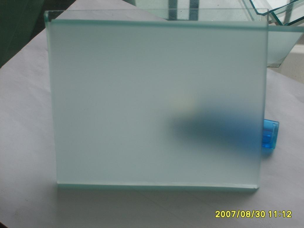 China Acid Etched Glass Thickness 10mm China Glass