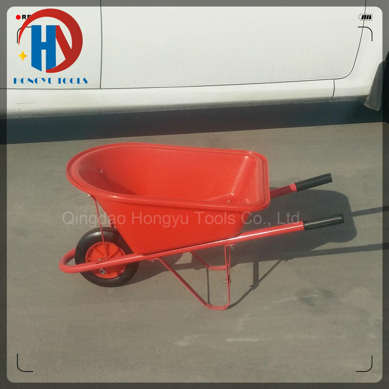 10kgs Capacity Plastic Kids Wheel Barrow