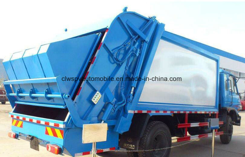 10-12 Cubic Meters Compactor Garbage Truck for Sale