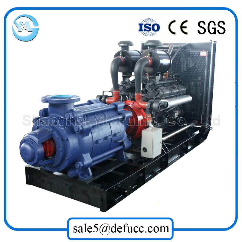 Trailer Mounted Diesel Engine Multistage Water Pump with Irrigation Equipment