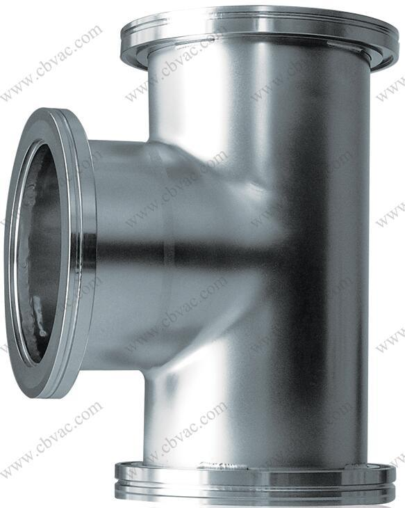 ISO-K Tee Connector for Vacuum Valves