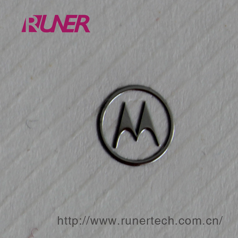 Gauzy Electroformed Nickel Logo for Digital Product