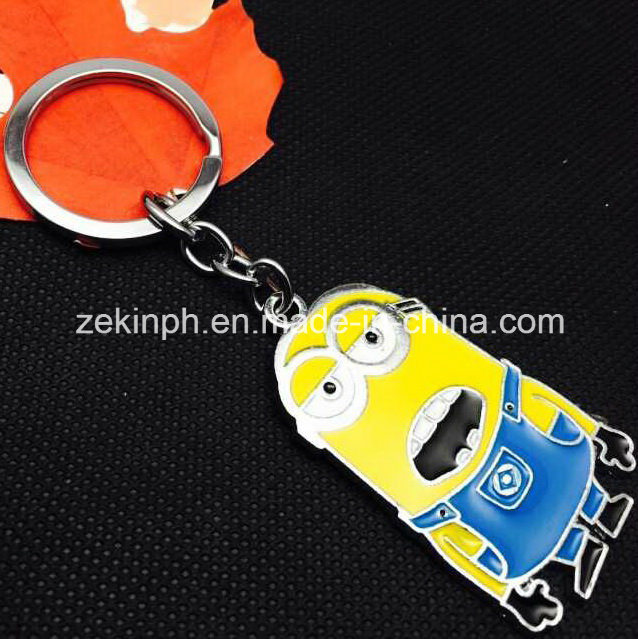 Custom Cute Promotional Cartoon Figure Key Chain