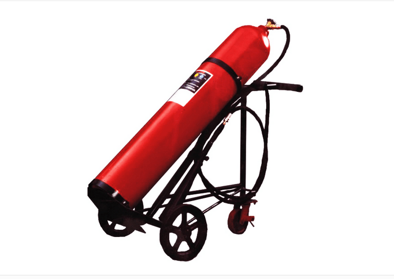 CO2 (Carbon Dioxide) Trolley Fire Extinguisher 25kg