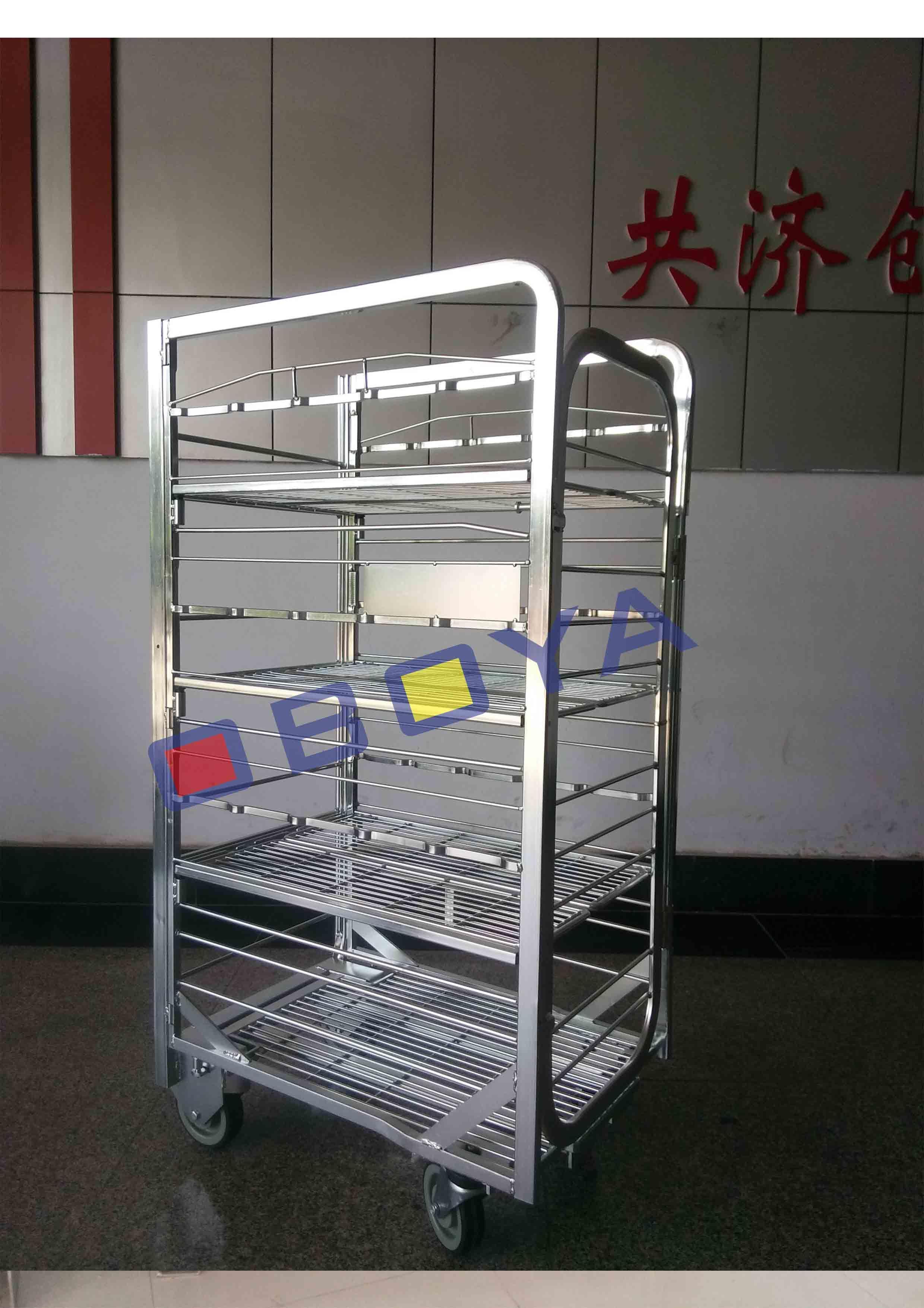 Milk Trolley, Metal Trolley, Logistic Trolley