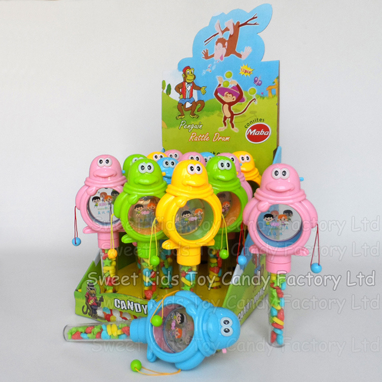 Flash Rattle Drum Candy Toys (131002)