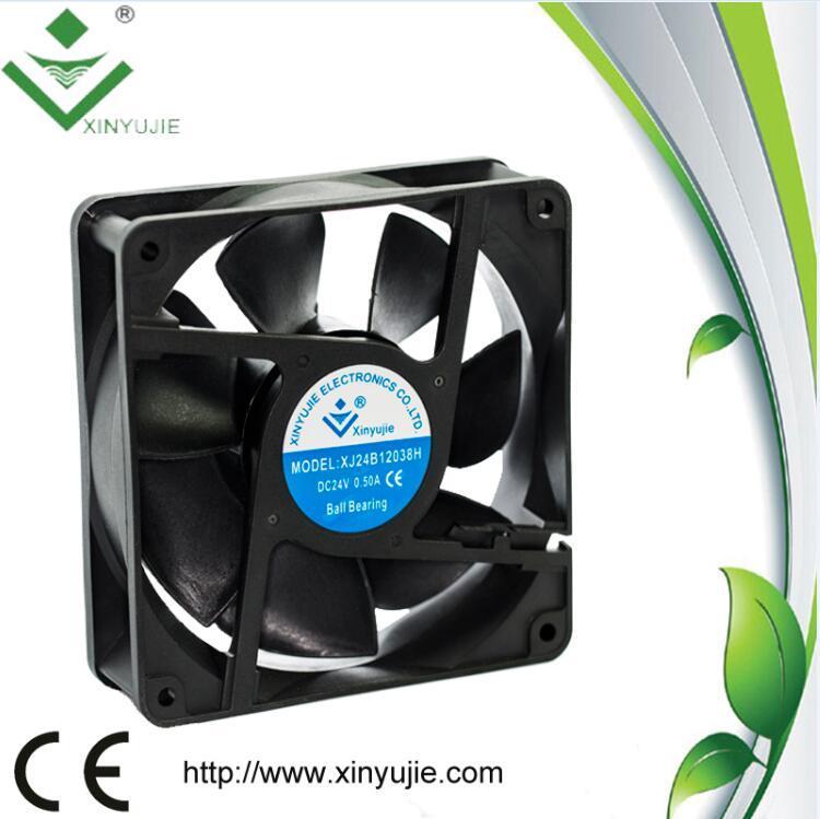 120mm Computer Fan 12V 24V High Speed 120X120X38mm Cooling Fan