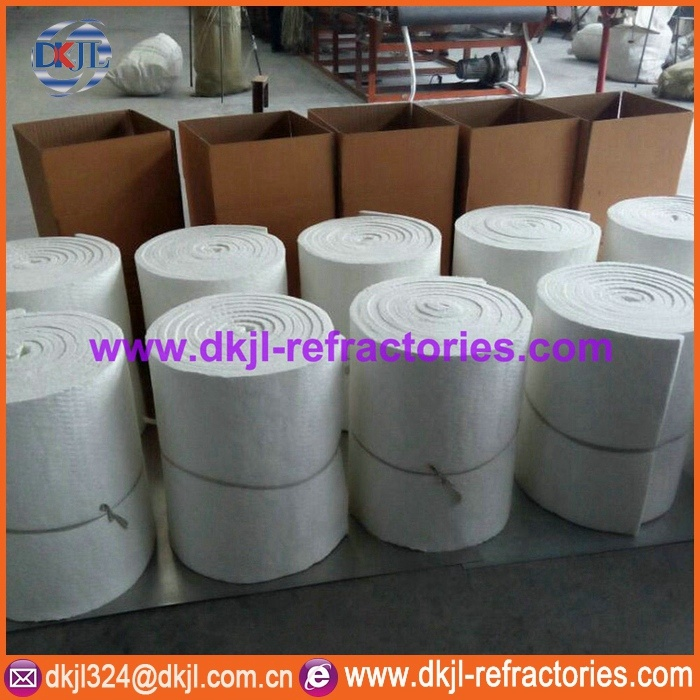Fire Proof Insulation Ceramic Fiber Blanket (1100C to 1430C)