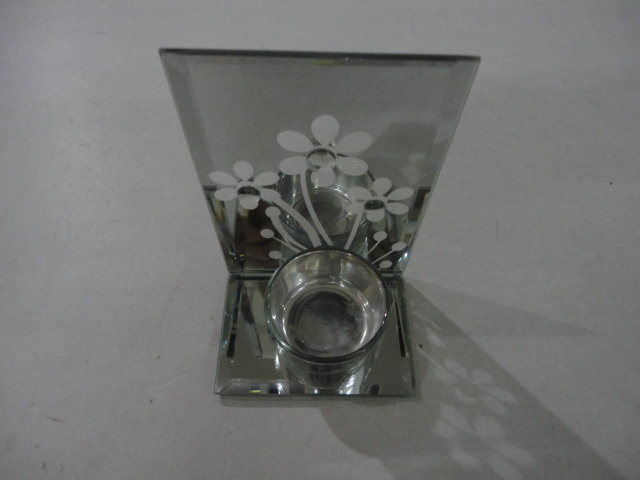 Hot Sale Glass Candle Holder