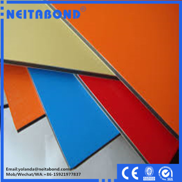 2mm 3mm 4mm Neitabond Aluminum Composite Panel for Curtain Bus Decoration