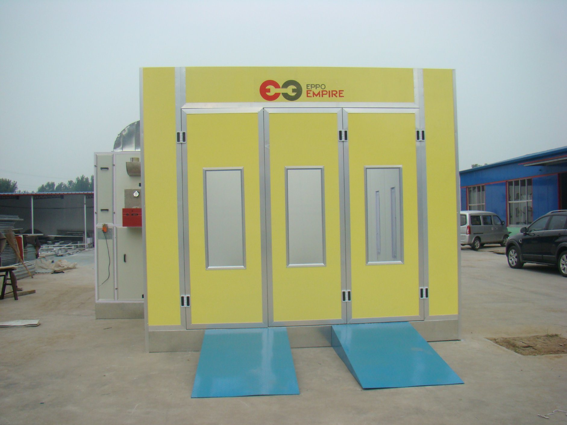 Automotive Small Paint Spray Booth Auto Baking Booth