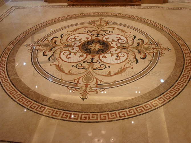 Pics Photos Marble Floor Medallions Waterjet Granite Ceramic Tile