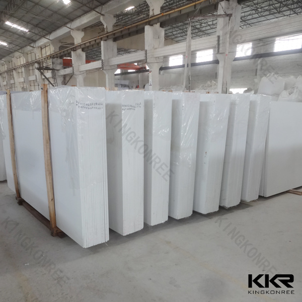 Pure White Sparkle Artificial Quartz Stone
