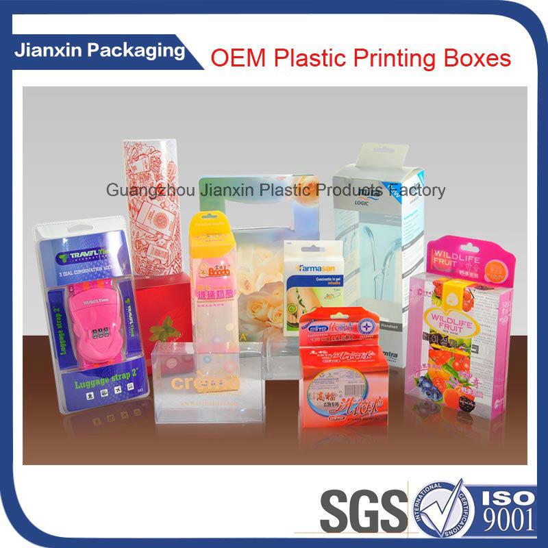 Colorful Printing Folio Plastic Box