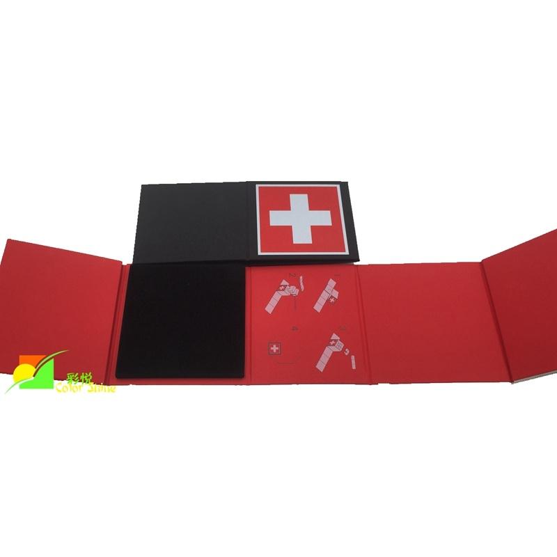 New Design Folding Watch Paper Gift Box