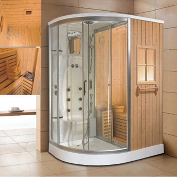 Stanza acrilica di sauna steam con la doccia ry 8006 for Doccia sauna