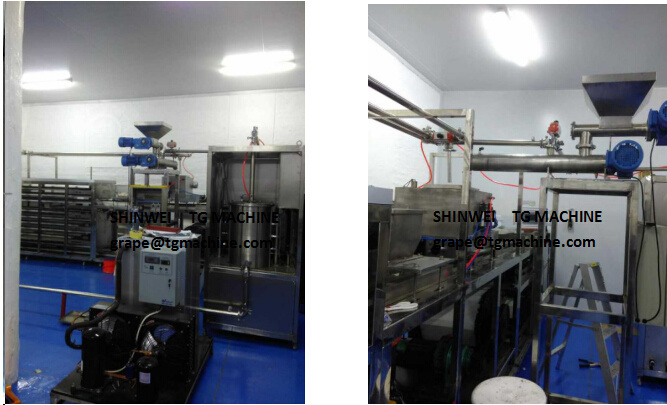 High-Performance Easy to Adjust Tw Continuous Chocolate Tempering Machine