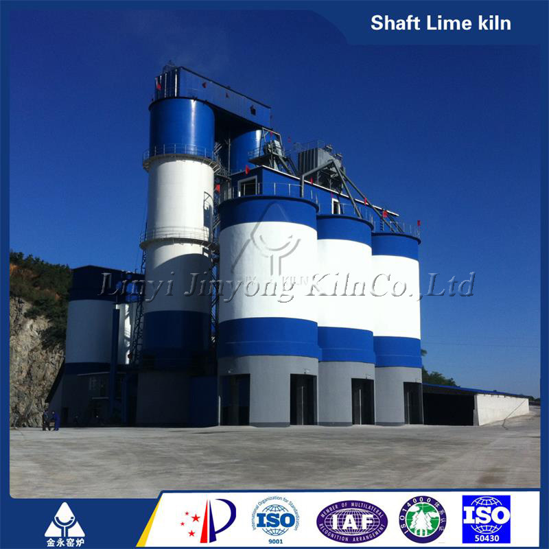 Energy-Saving Vertical Lime Kiln for Industrial Construction Machine