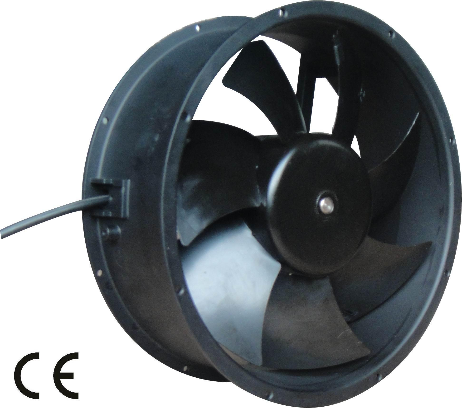 China DC Axial Fan 215mm China Axial Fan Axial Flow Fan #4C657F