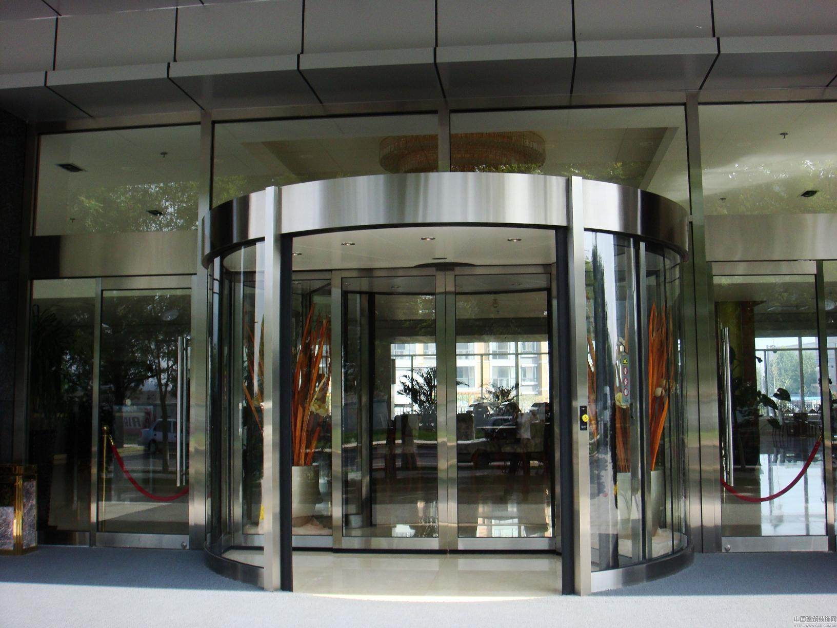 Two Wing Automatic Revolving Door