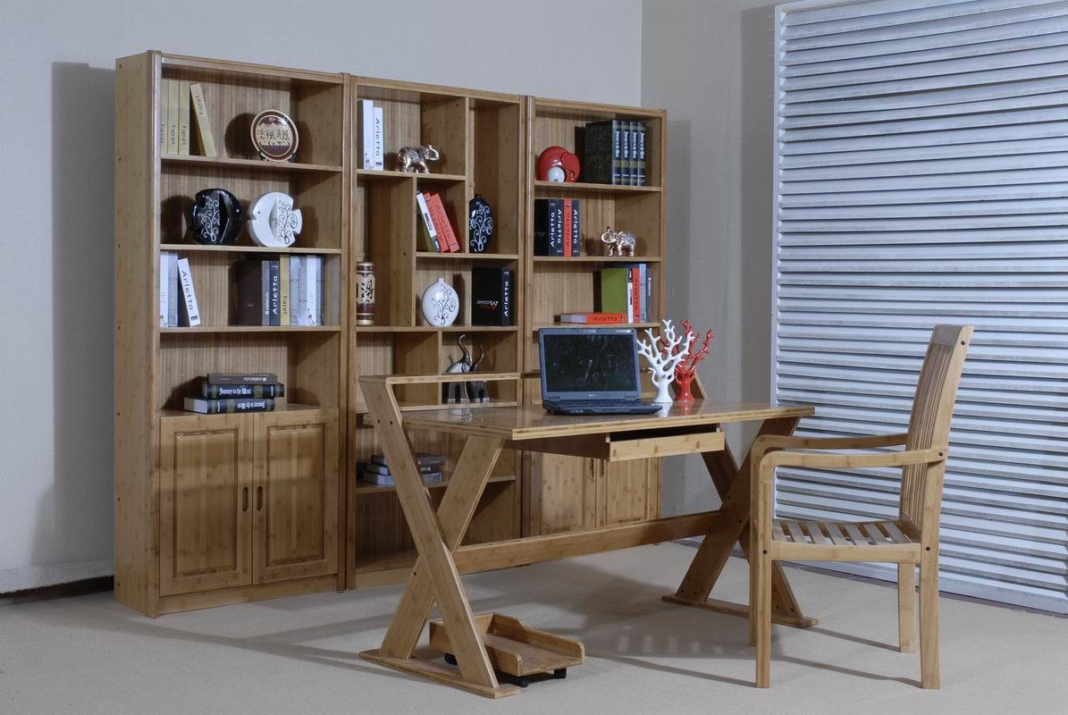 Solid Bamboo Study Room Furniture