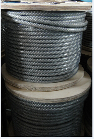 Steel Rope 6X7+FC with UV-Resistant PVC Coated