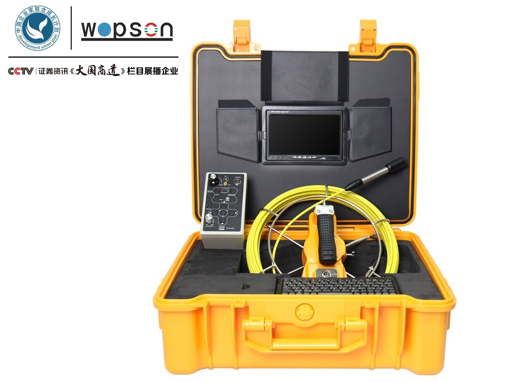 Pipe Sewer Drain Inspection Camera with Waterproof Camera Wps715DJ