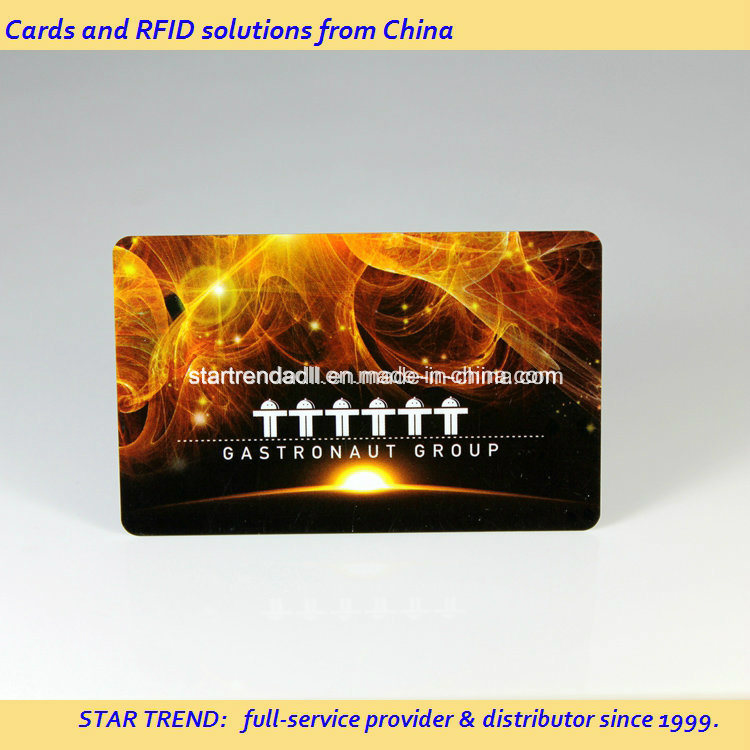 Snack Bar Card Made of PVC with Magnetic Stripe (ISO 7811)