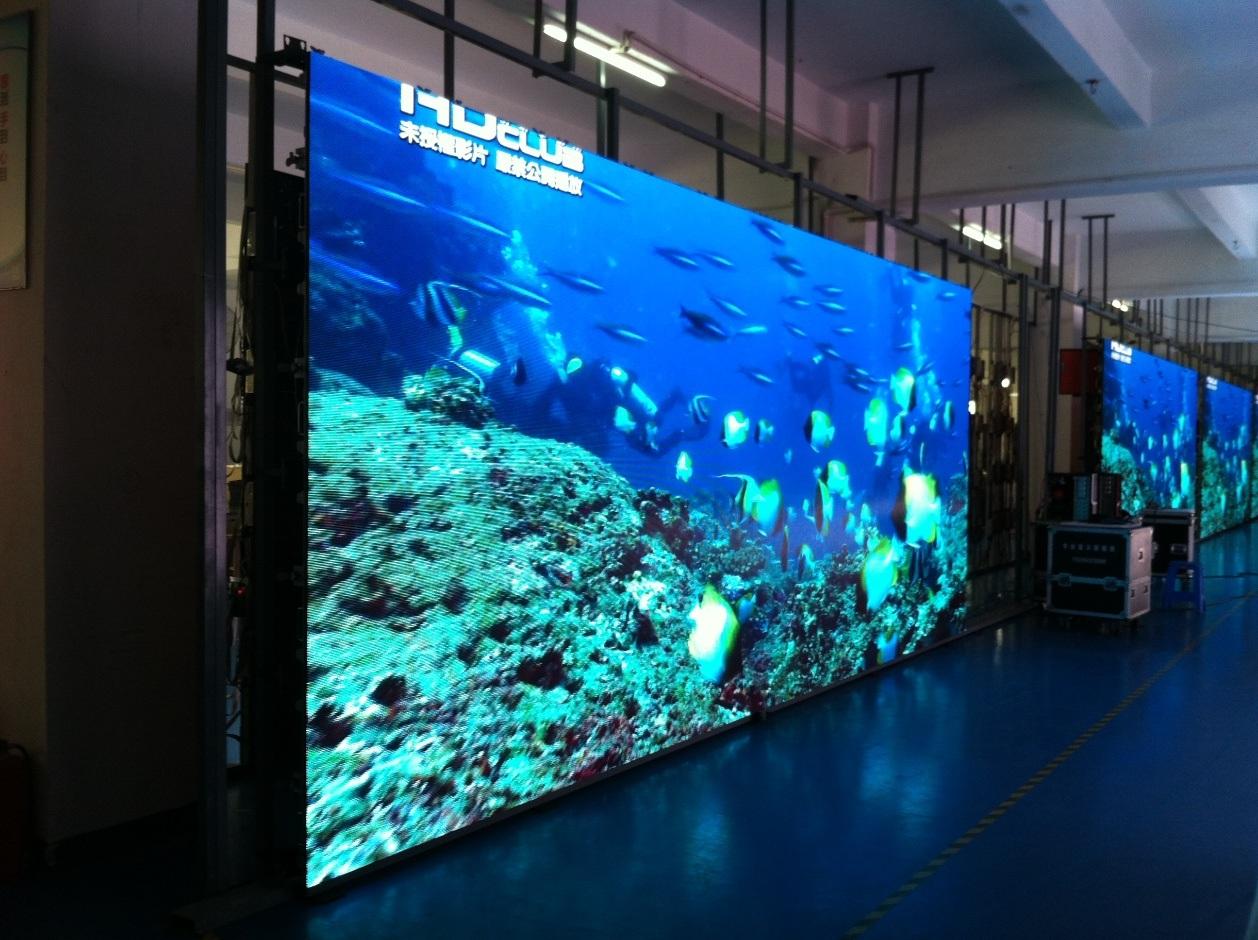 P6mm Full Color Outdoor Rental Die-Casting LED Display Screen