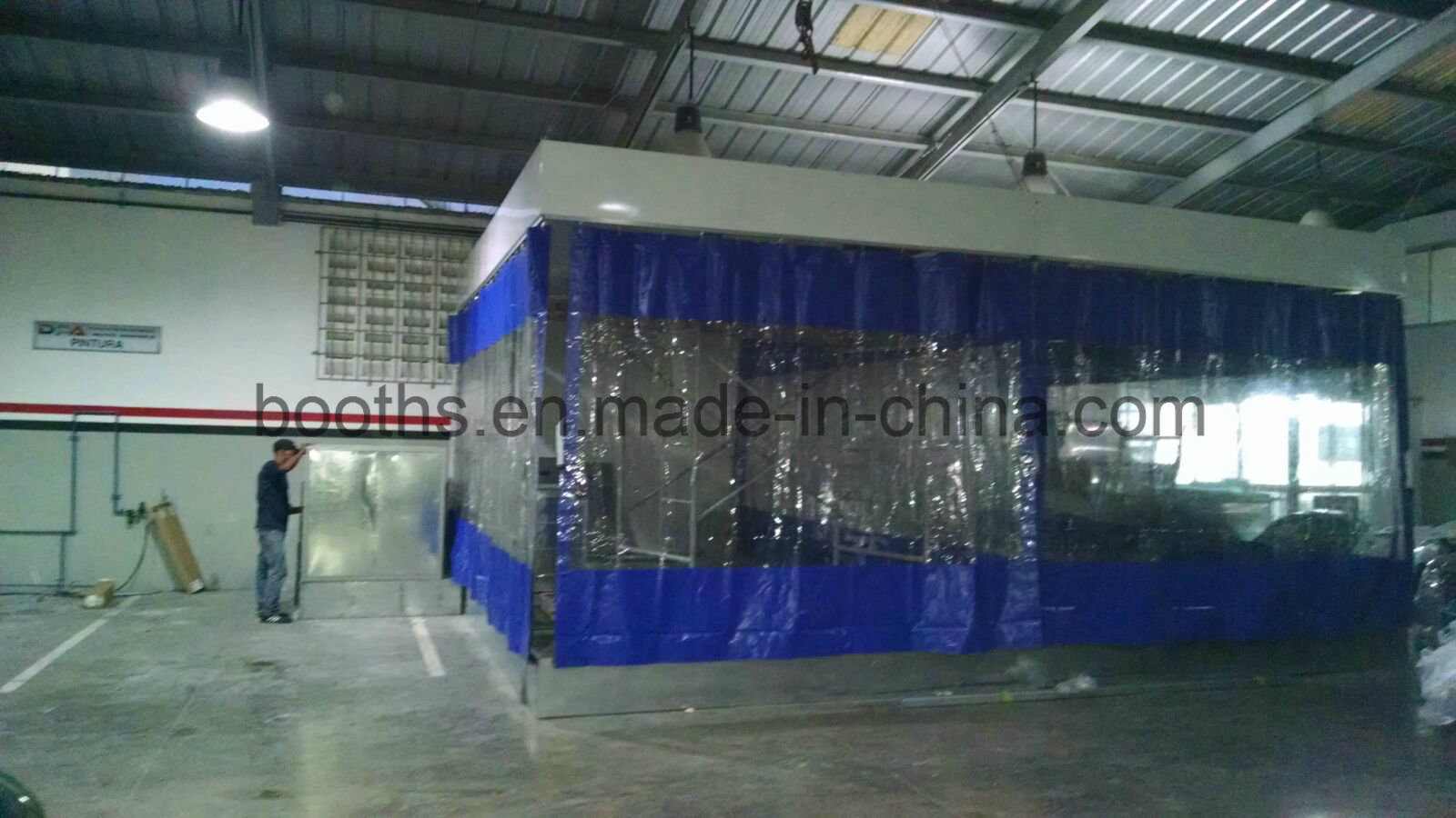 Sandblasting Booths Paint Prep Station with Cheap Price