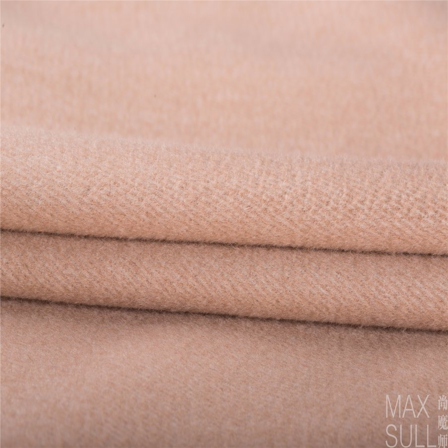 Wool and Rabbit Hair Fabric for Winter Coat