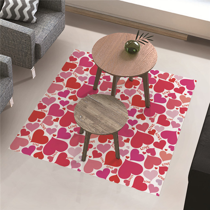 Factory Supply Custom Design Printing Decorative Home PVC Floor Sticker