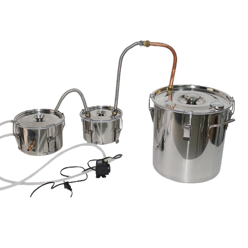 10 L Stainless Distiller Alcohol Moonshine Ethanol Whisky Spirits Maker
