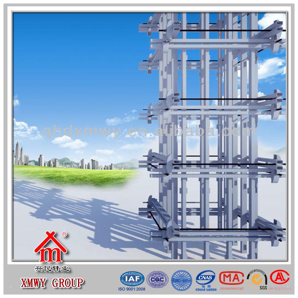 Wall Formwork for Bearing Concrete Shearing Wall