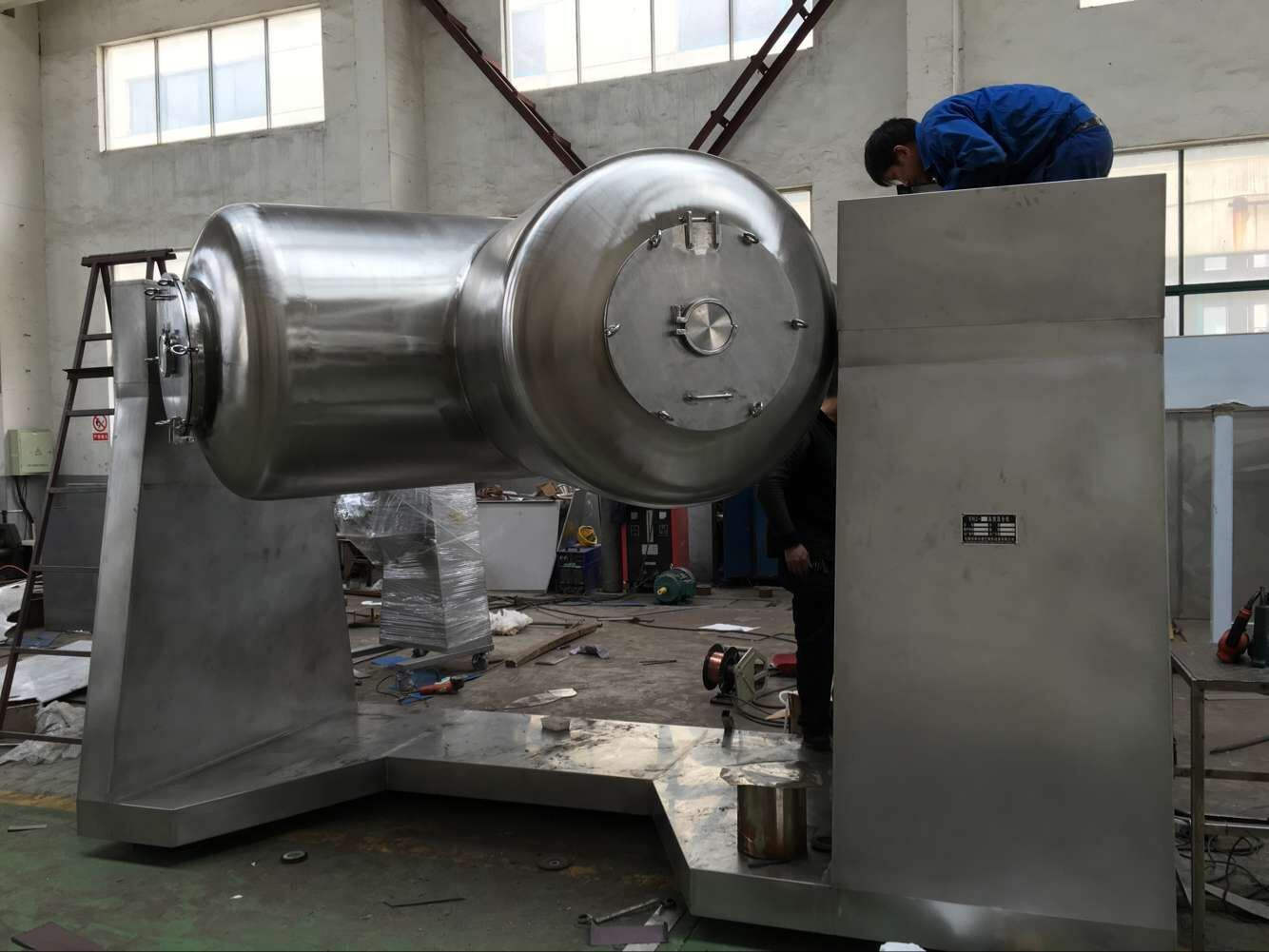Vhj Series V Shape High Efficient Mixing Machine