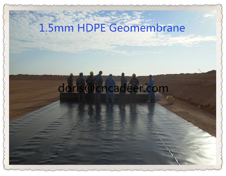 Landfill Project 2mm HDPE Plastic Geomembrane